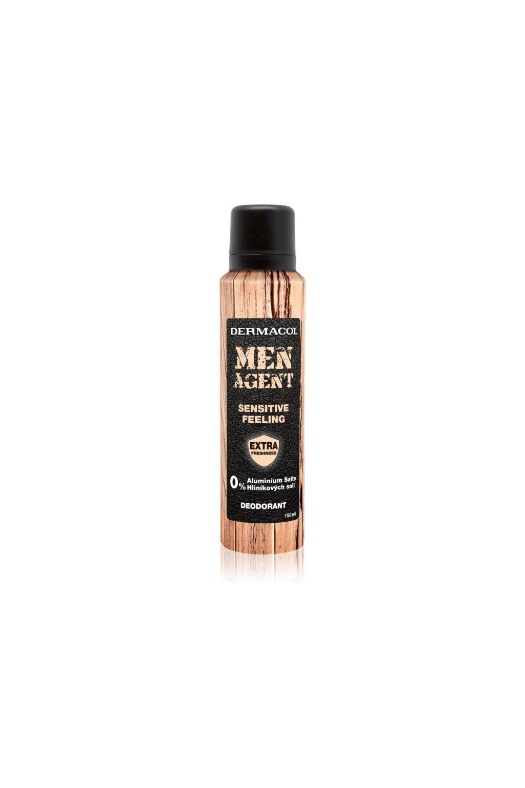 dermacol men agent sensitive feeling deodorant ve spreji 5