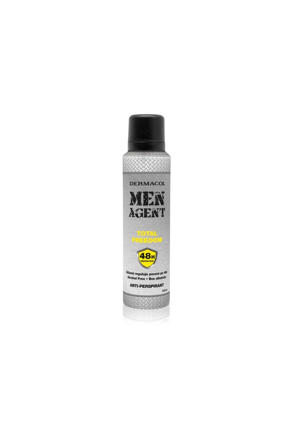 dermacol men agent total freedom antiperspirant ve spreji 5