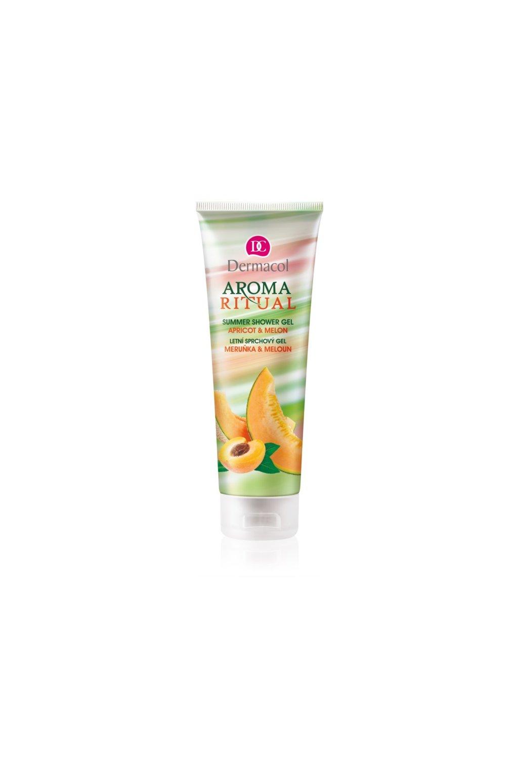 dermacol aroma ritual merunka a meloun letni sprchovy gel