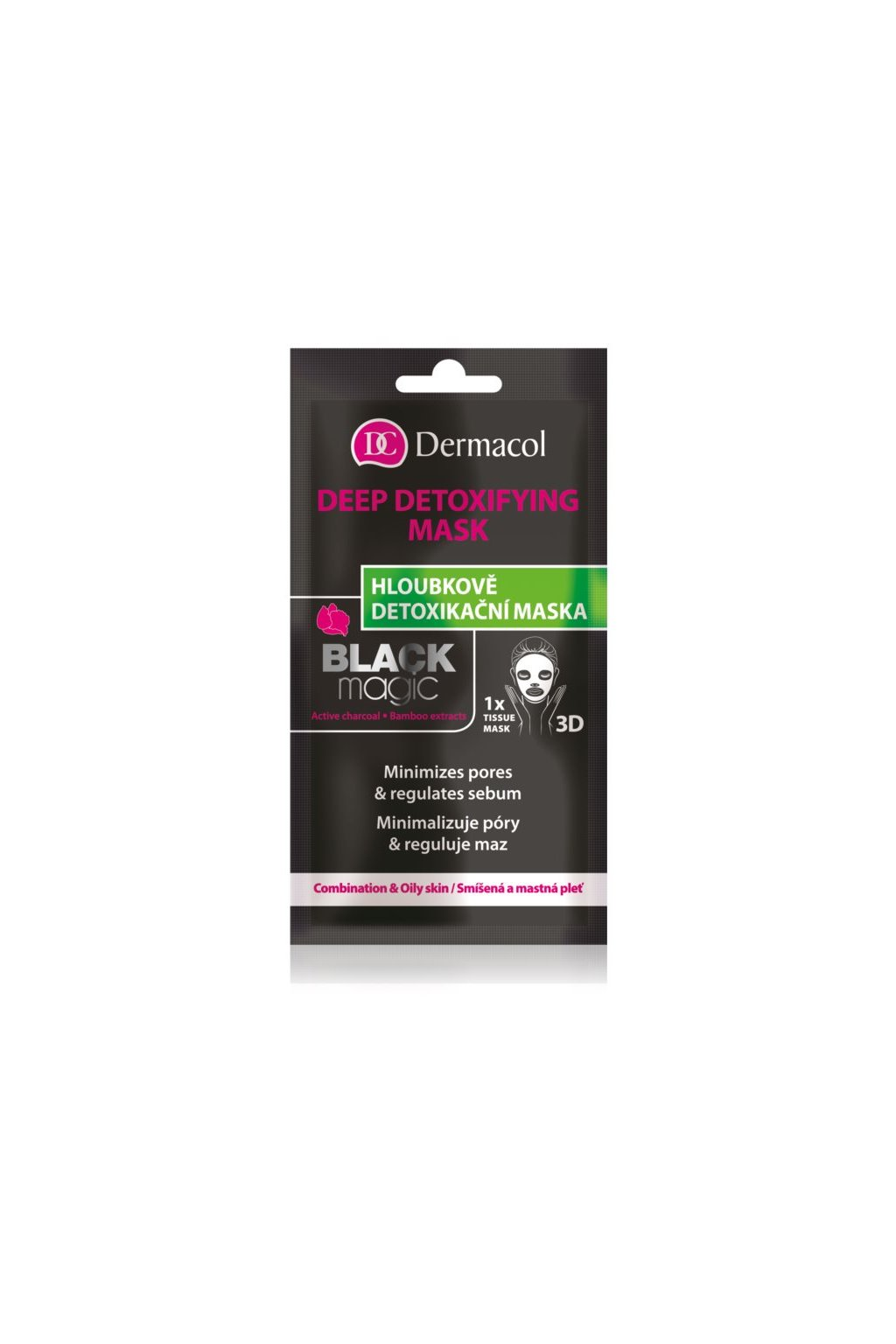 dermacol black magic detoxikacni maska