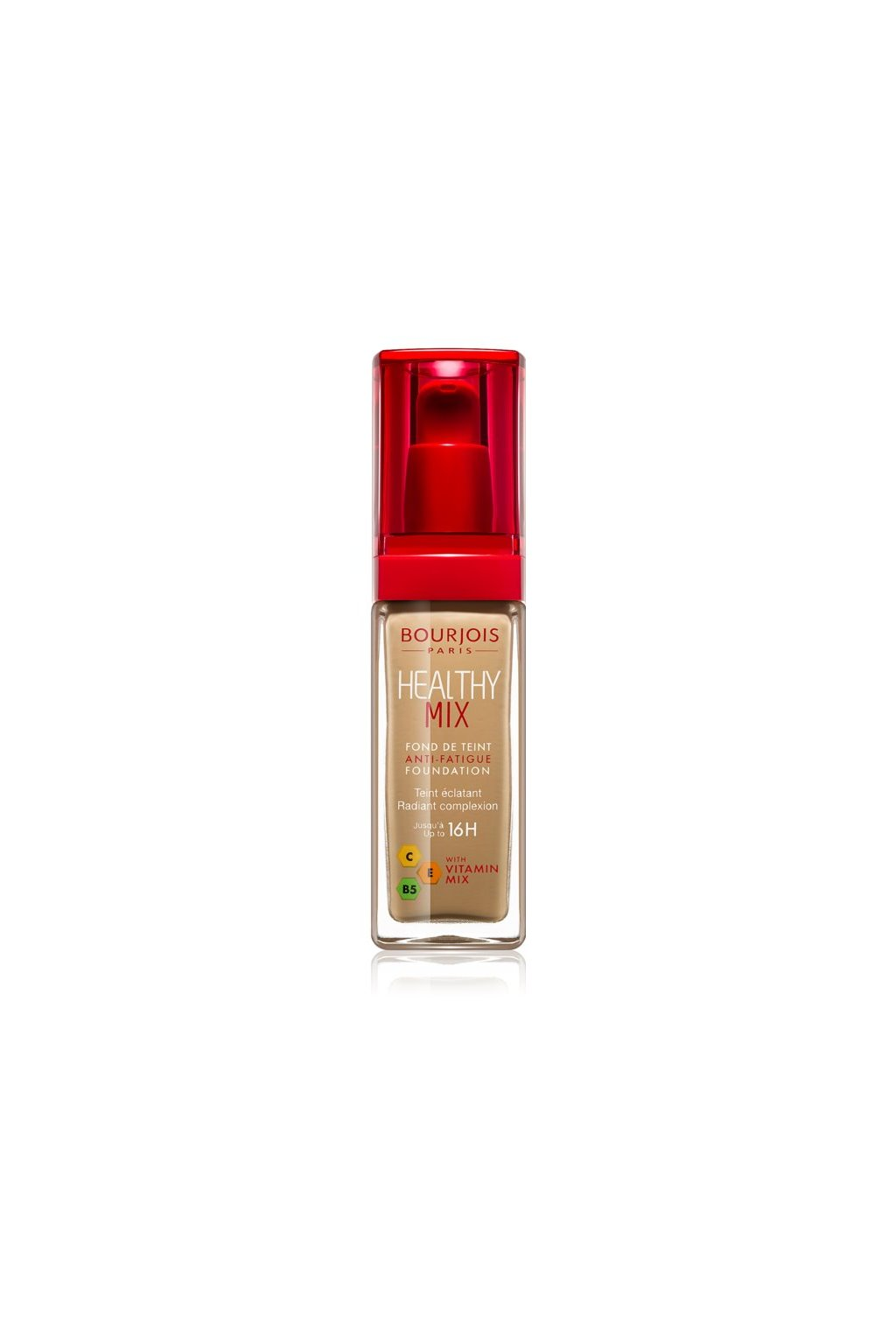 Bourjois Healthy Mix Anti-Fatigue Foundation 30 ml (Odstín 51 Light Vanilla)