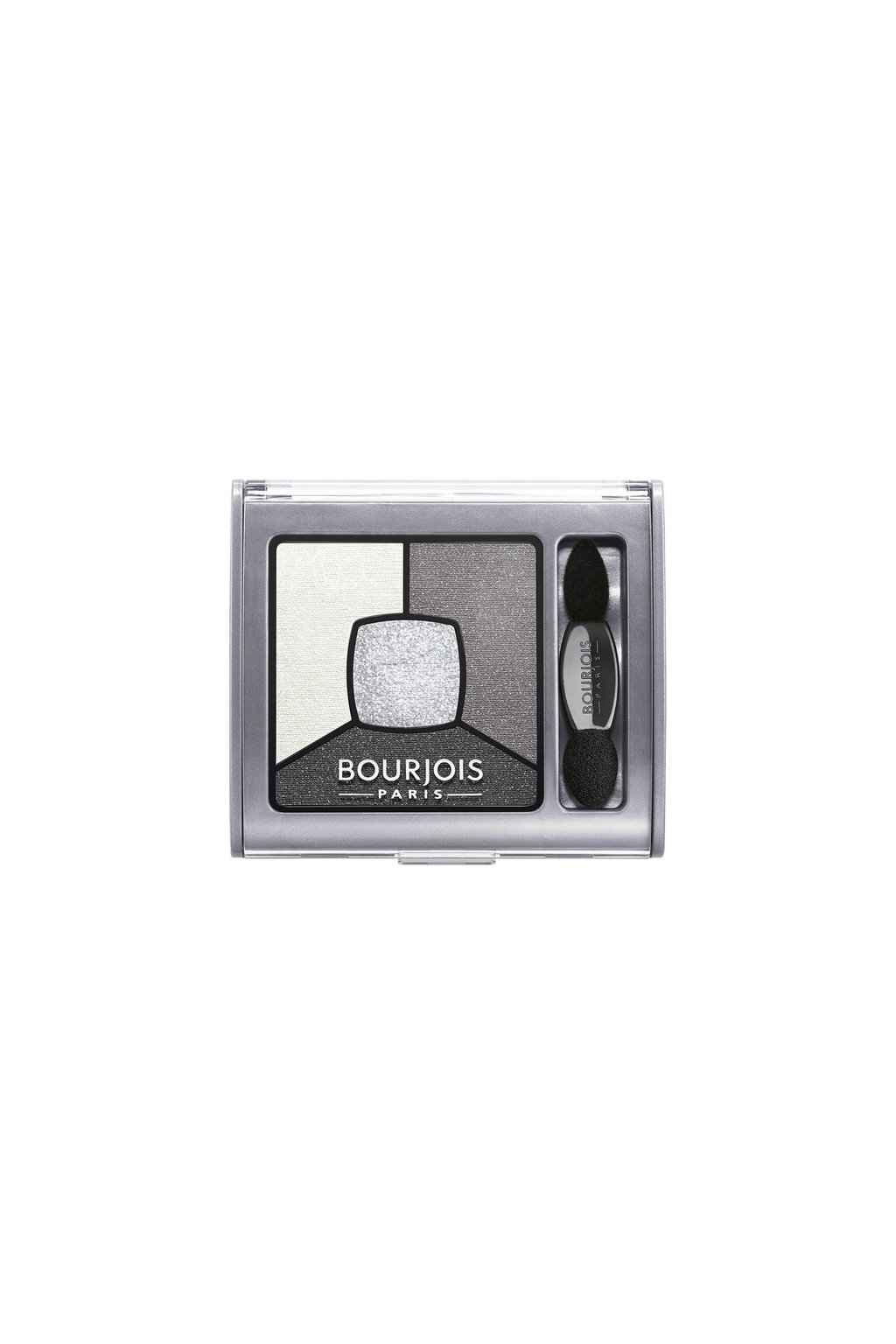 Bourjois Smoky Stories Quad Eyeshadow Palette (Odstín 01 Grey Night 3,2 g)