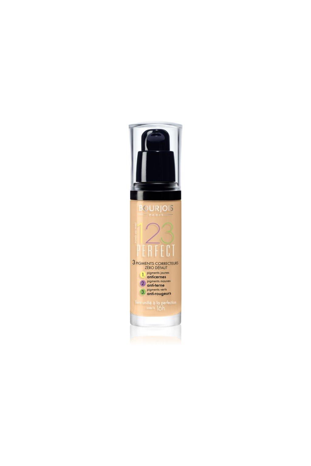 Bourjois 123 Perfect Makeup (Odstín č. 52 Vanille 30 ml)
