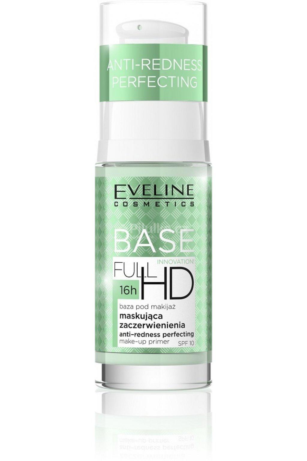eveline cosmetics baze proti zarudnuti pod make up