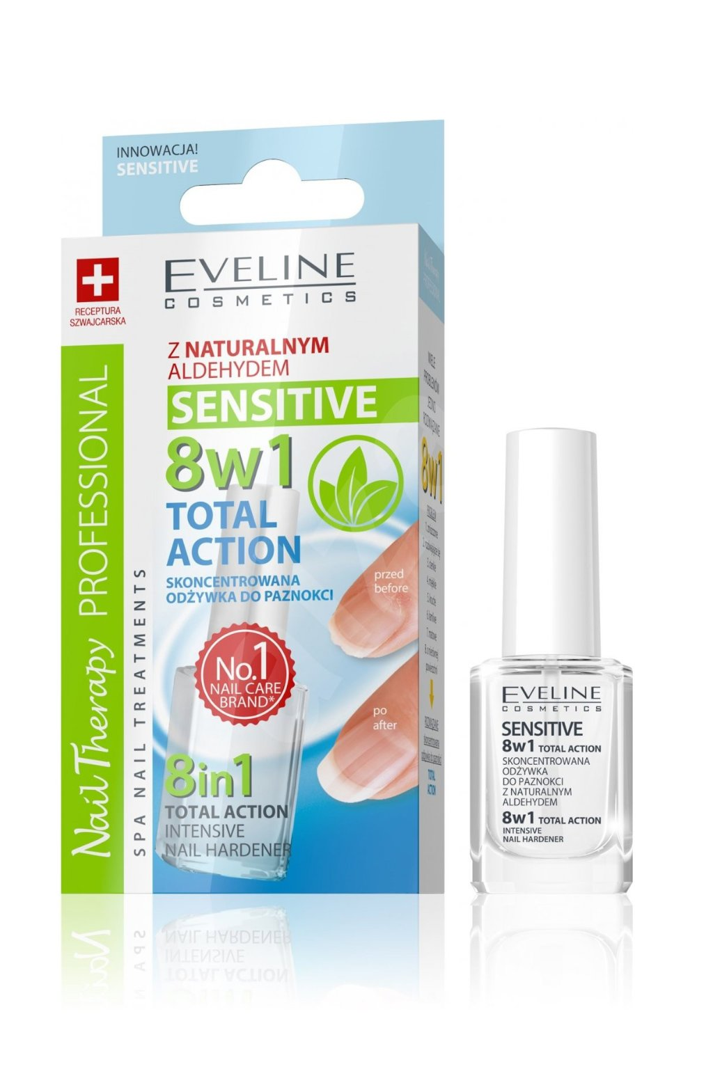Eveline Cosmetics Total Action 8v1 Nail Hardener
