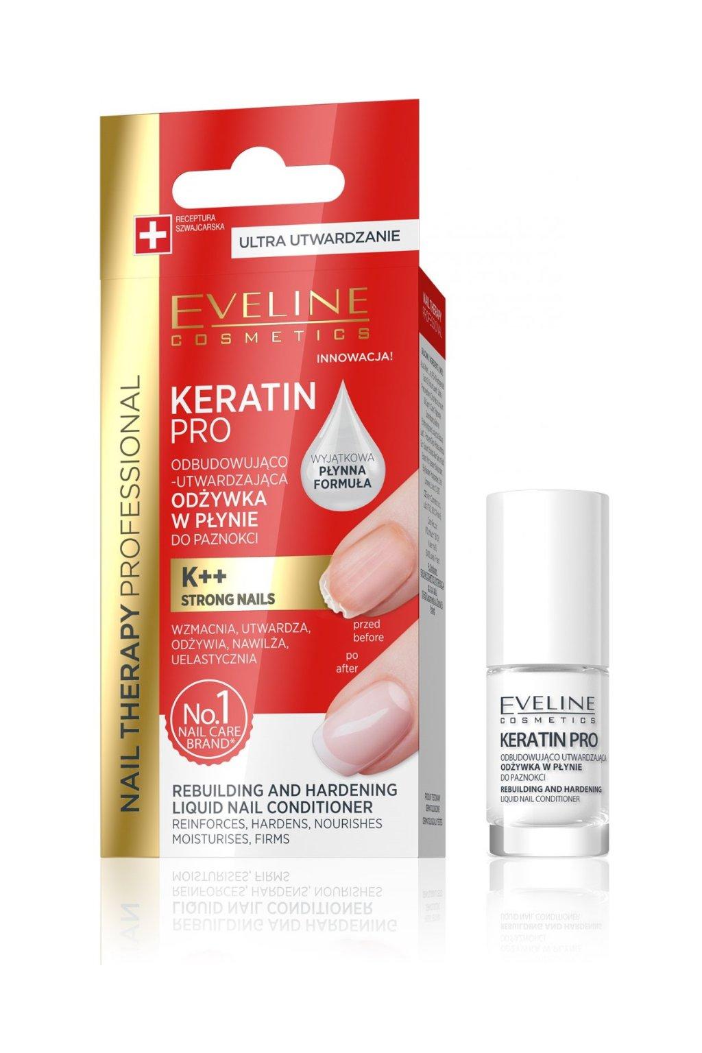 Eveline Cosmetics Keratin Pro Nail Conditioner