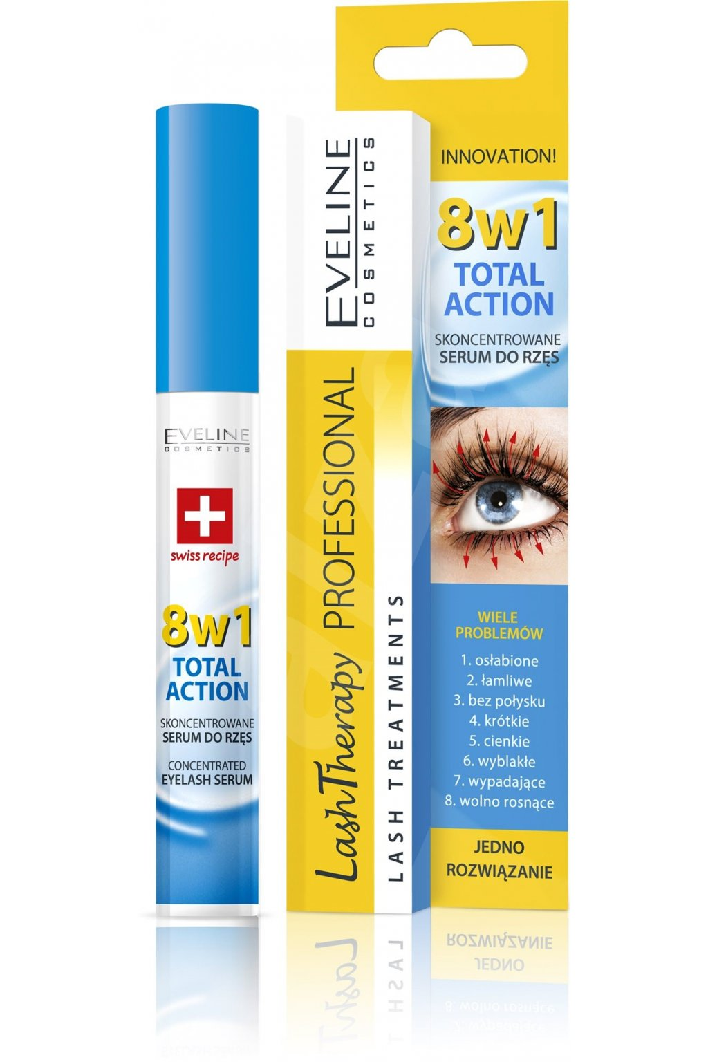 eveline cosmetics lash theatments koncentrovane serum na rasy 8 v 1