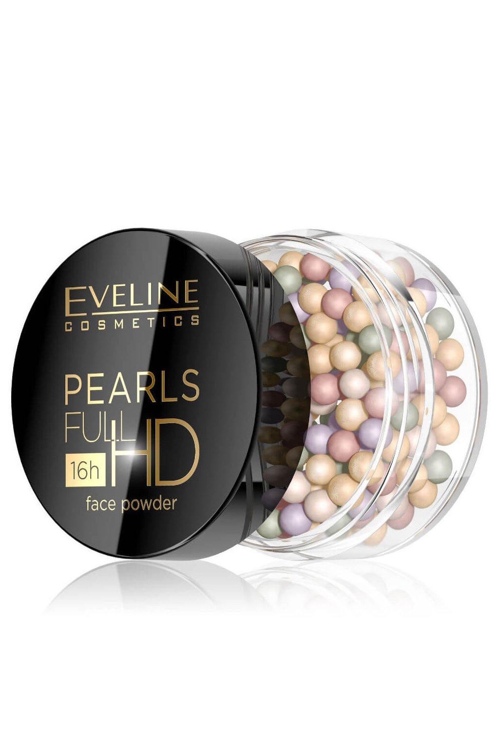 eveline cosmetics full hd pearls barevny pudr cc 20g