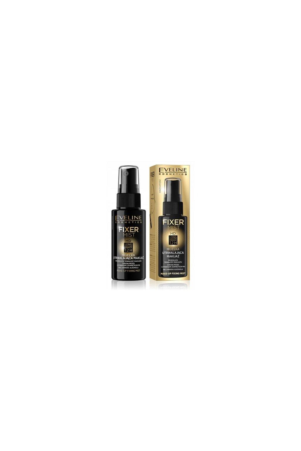 eveline cosmetics fixer mist hd lasting 12h 50 ml
