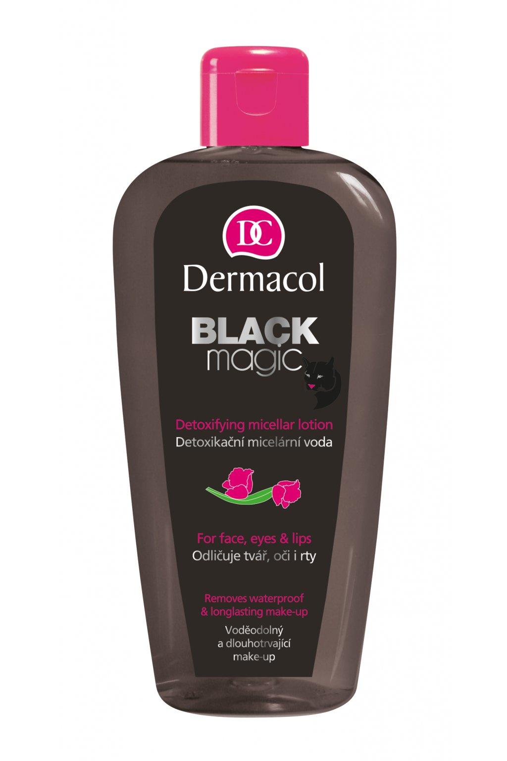 dermacol black magic detoxikacni micelarni voda