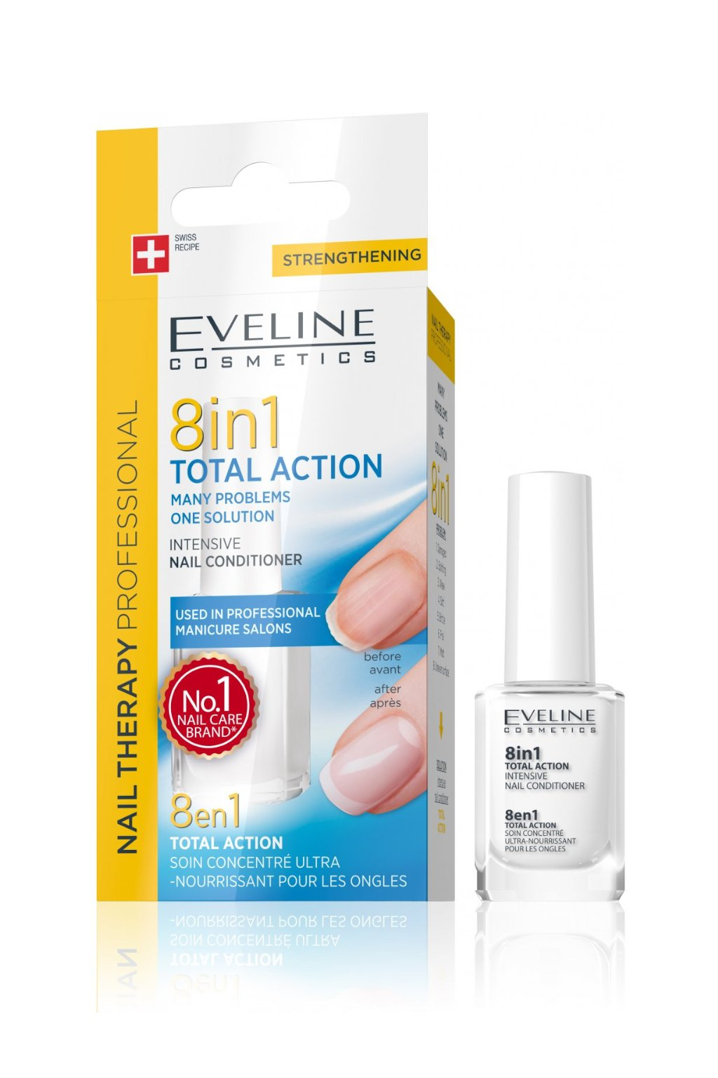 Eveline Cosmetics Total Action 8v1 Nail Conditioner