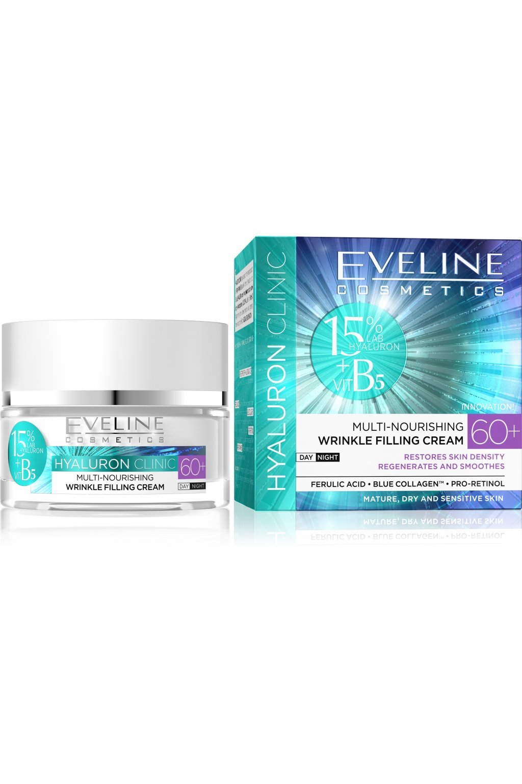 5907609339959 Hyaluron Clinic day and night cream 60+