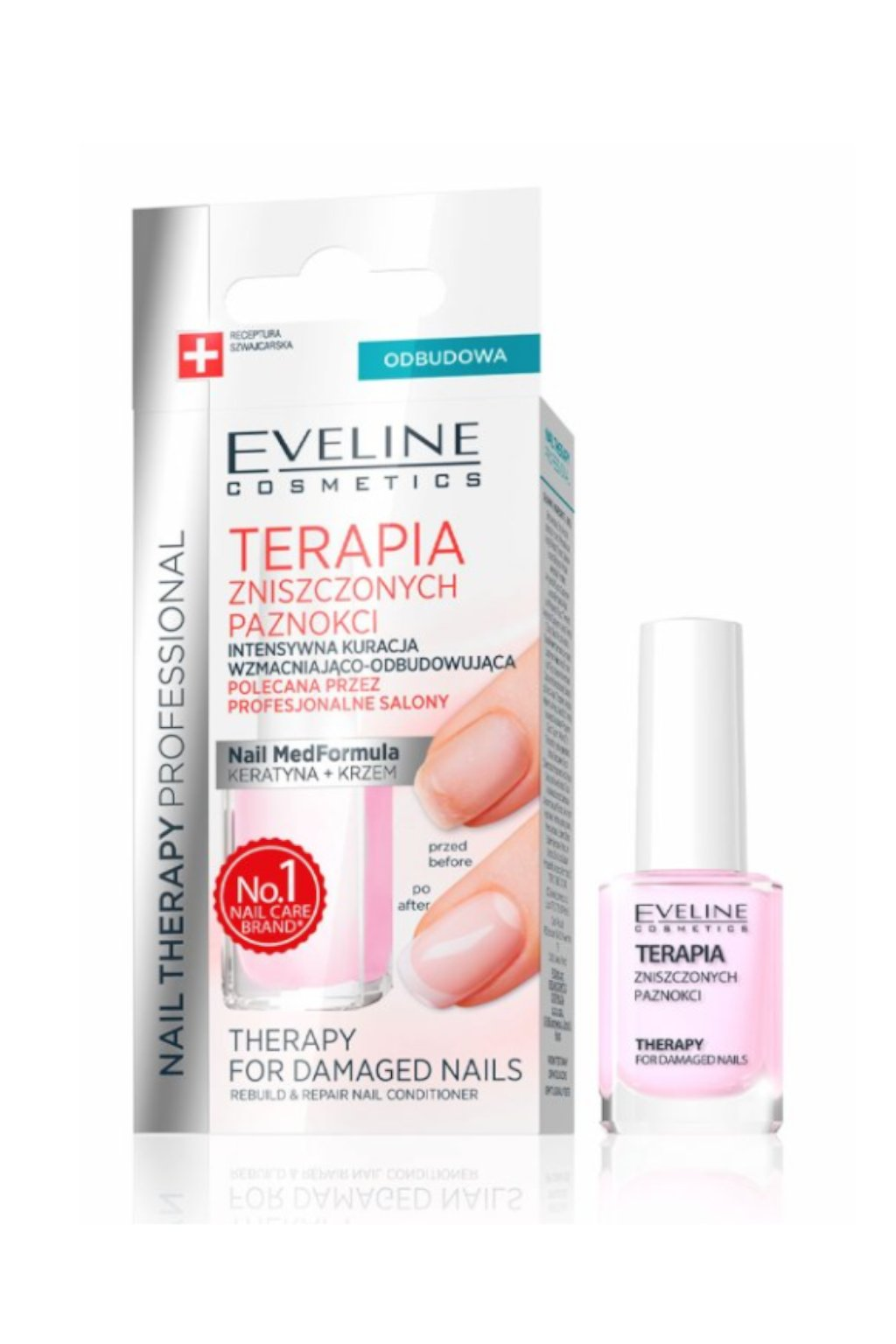 Eveline Cosmetics Nail Therapy For Damaged Nails