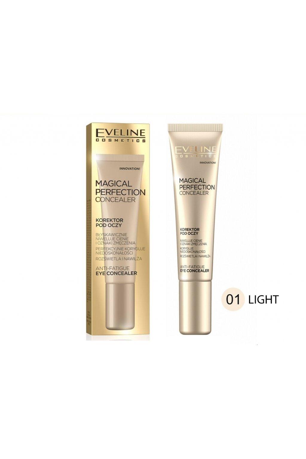 eveline cosmetics magical perfection korektor light 15 ml