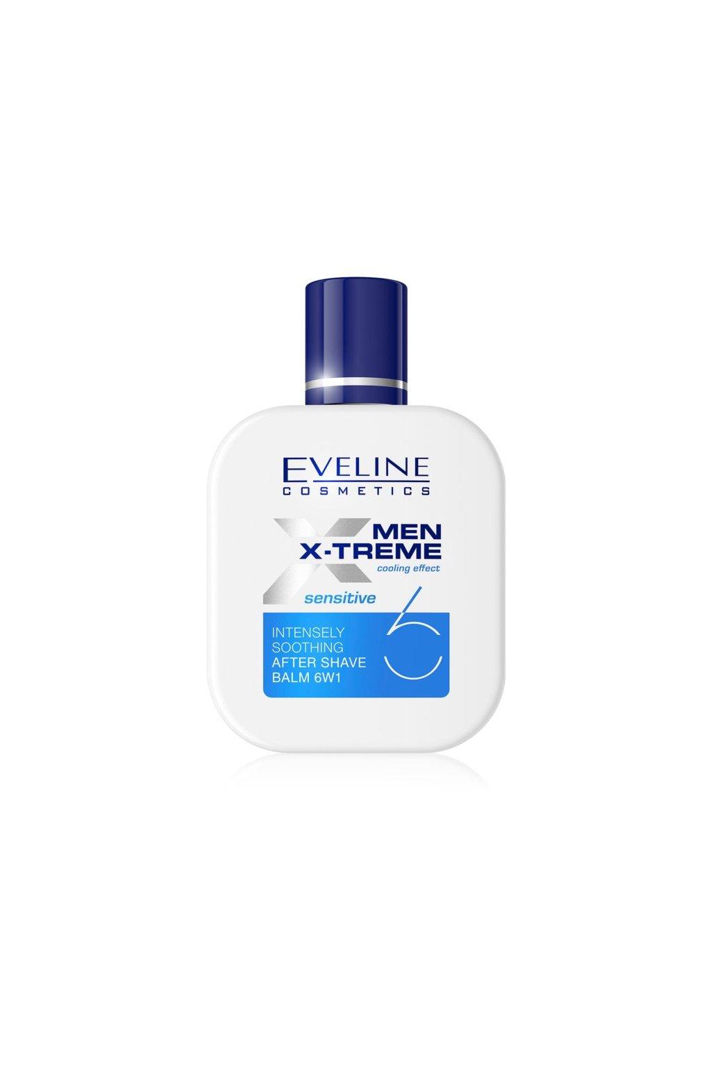 eveline cosmetics men x treme sensitive zklidnujici balzam po holeni 6 v 1