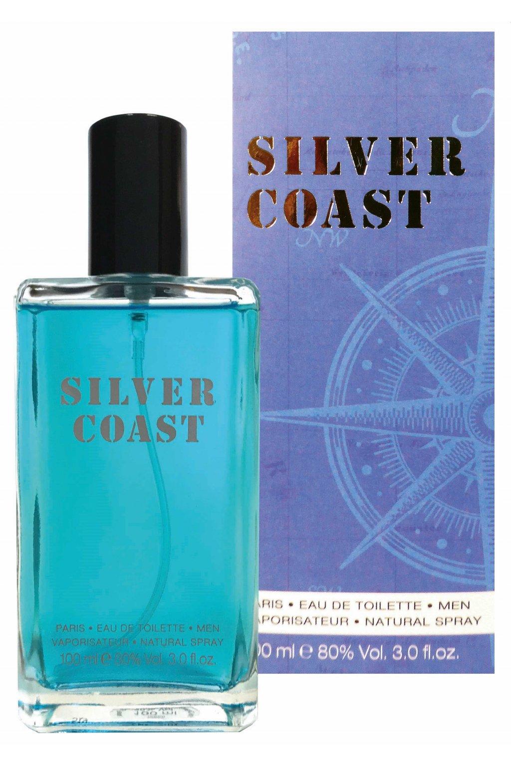 Noblesse Silver Coast toaletní voda pro muže 100 ml