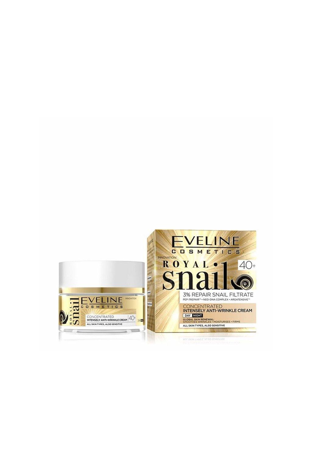 eveline cosmetics royal snail 40 denni nocni pletovy krem 50 ml