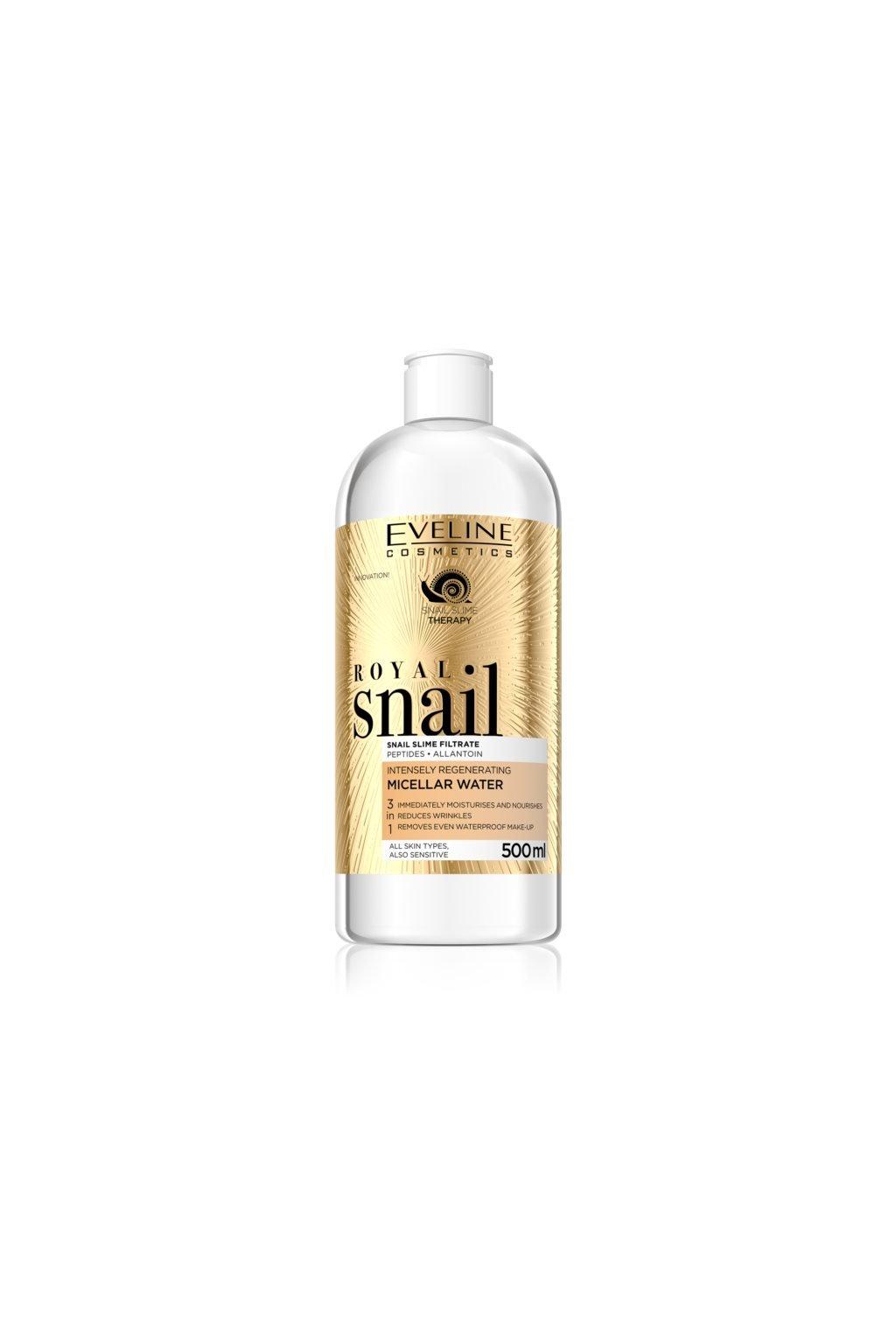 eveline cosmetics royal snail micelarni voda s regeneracnim ucinkem