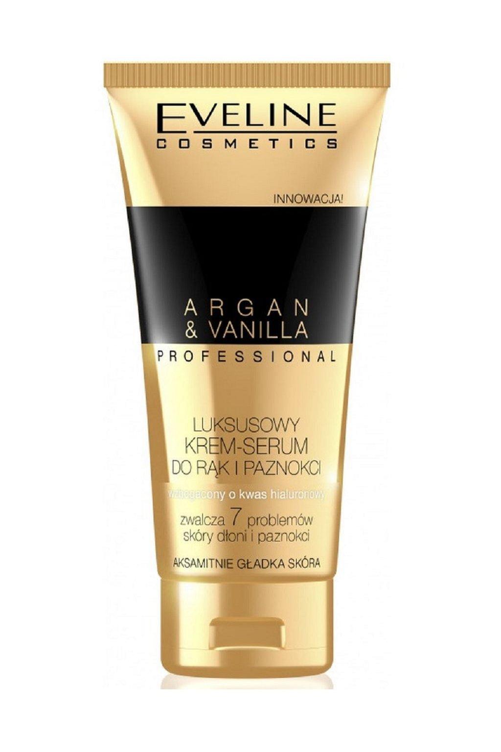 eveline cosmetics argan oil a macadamia krem na ruce