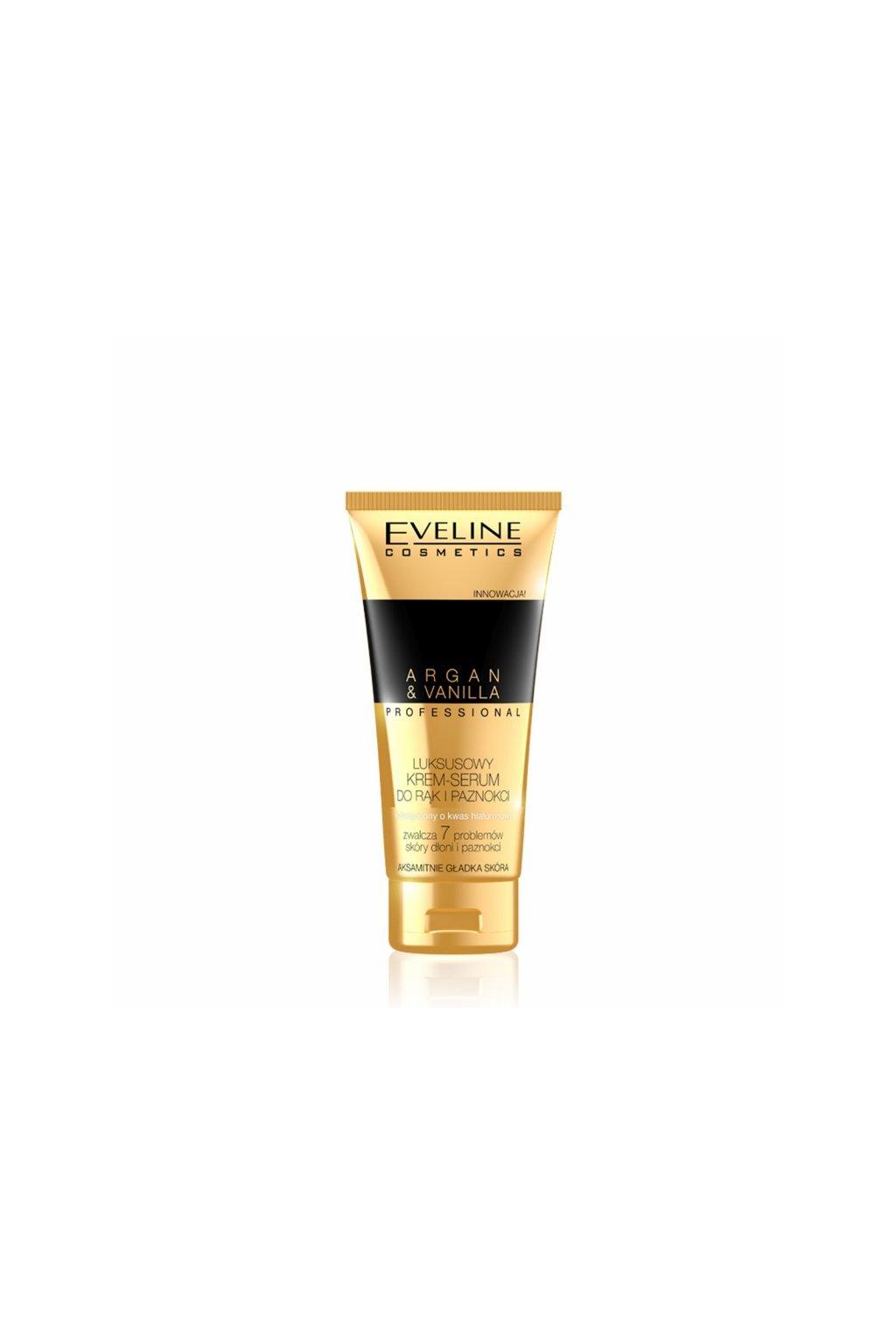 eveline cosmetics maximalni pece o ruce i nehty s krem serem argan vanilla