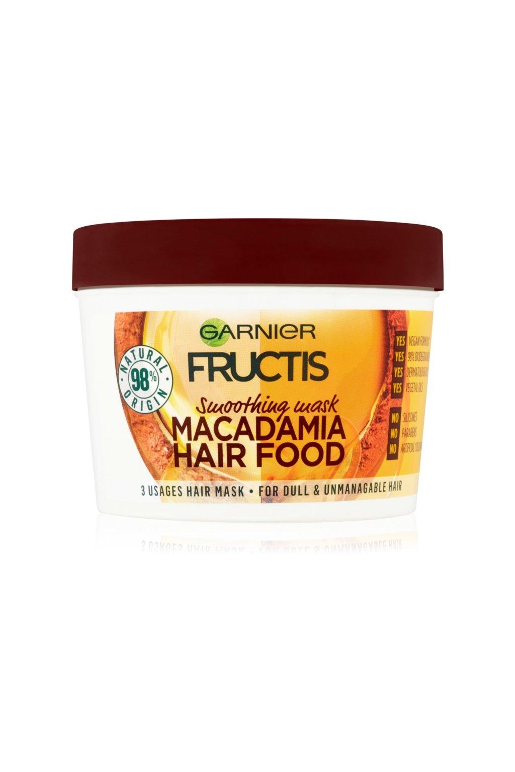 garnier fructis macadamia hair food vyhlazujici maska pro nepoddajne vlasy 5