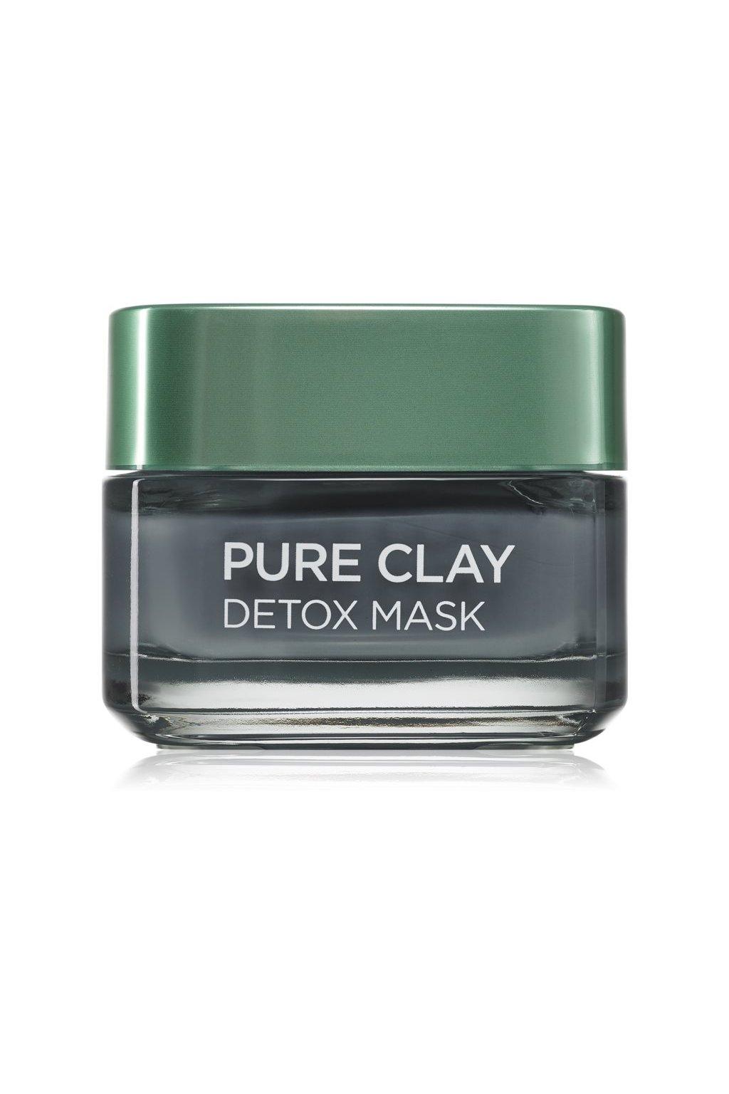 loreal paris pure clay detoxikacni maska