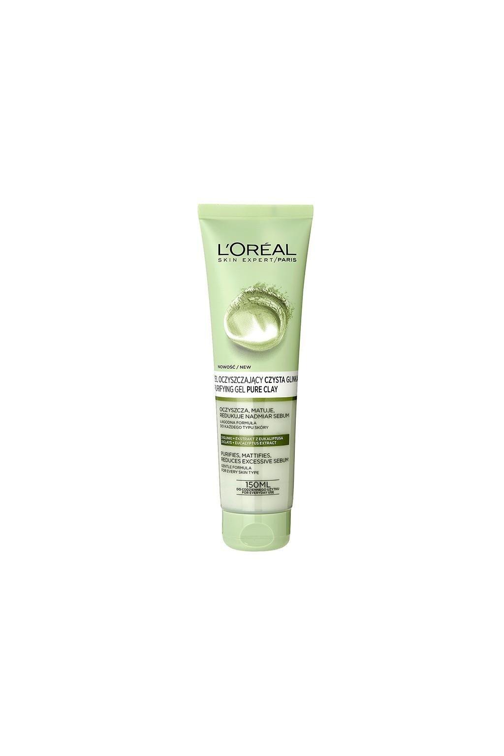 gel cleansing for face l oreal paris skin expert for women 13 150 ml 1
