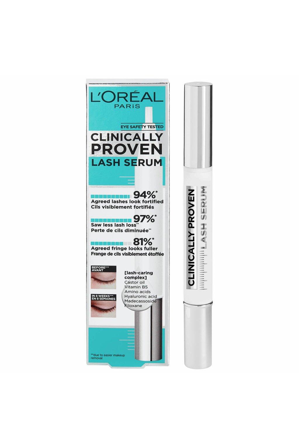 loreal paris clinically prove lash serum serum na rasy