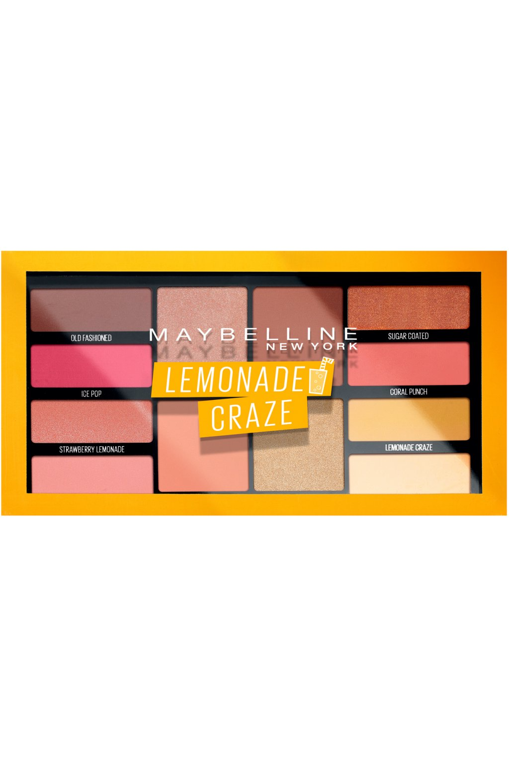 maybelline lemonade craze paleta ocnich stinu