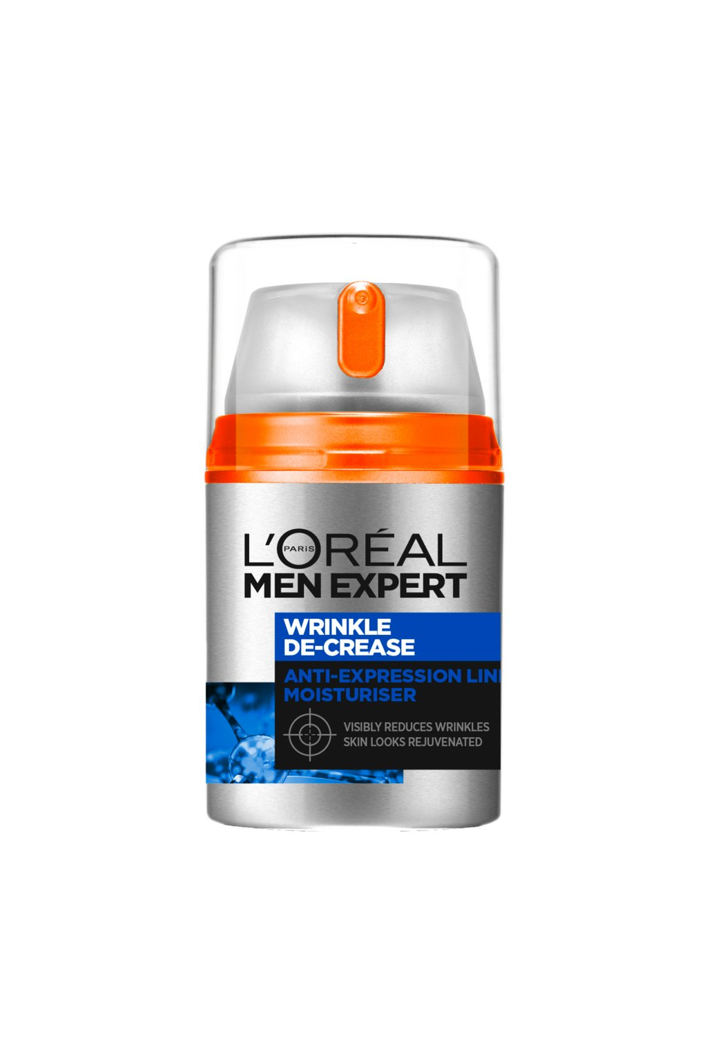 loreal men anti wringle de crease boswelox