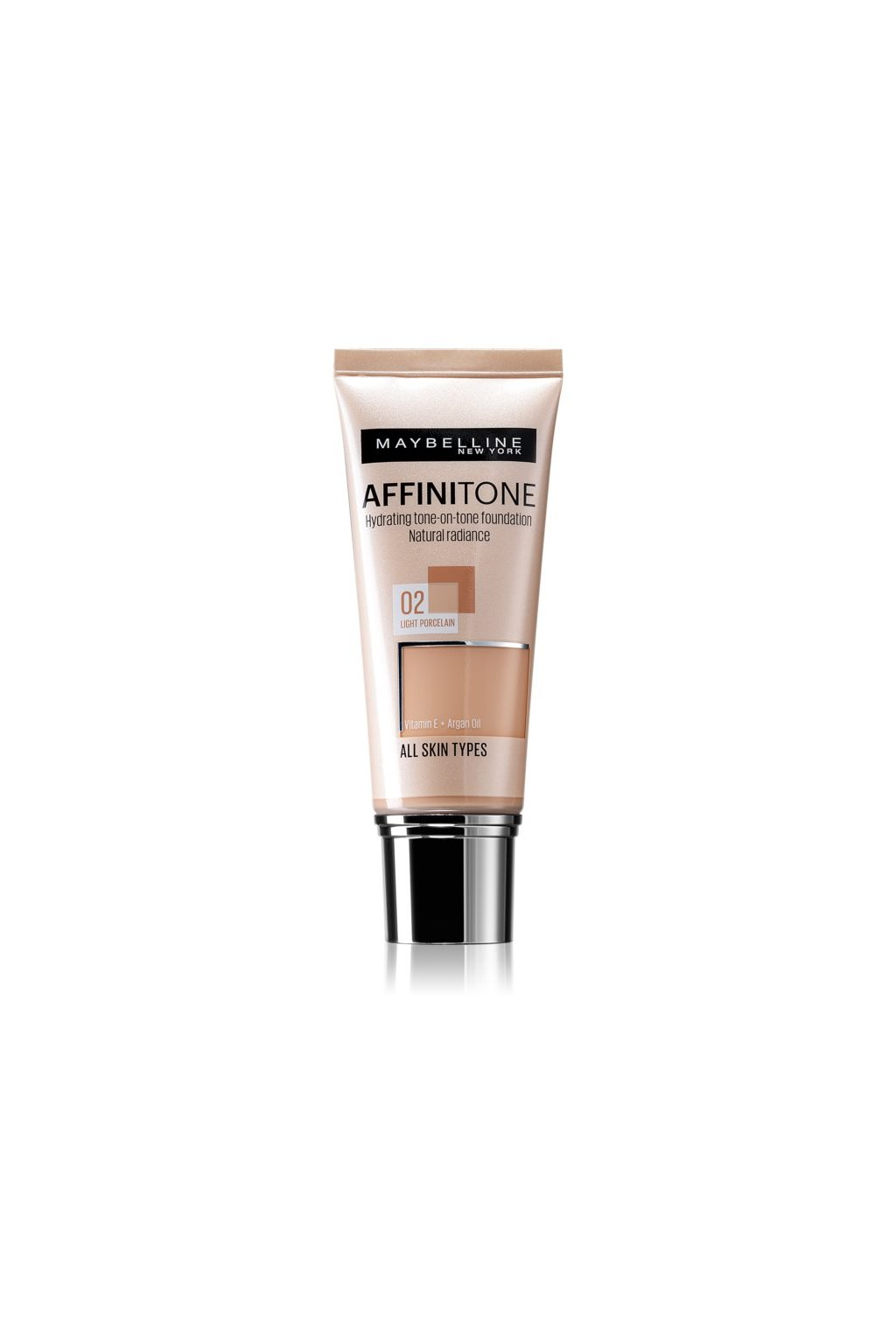 maybelline affinitone hydratacni make up 02