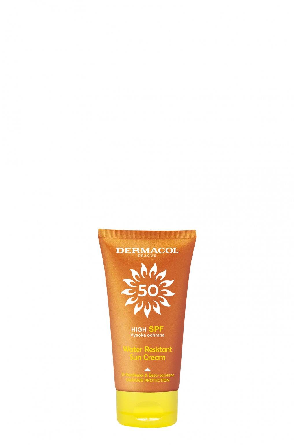 dermacol sun water resistant pletovy krem na opalovani spf 50