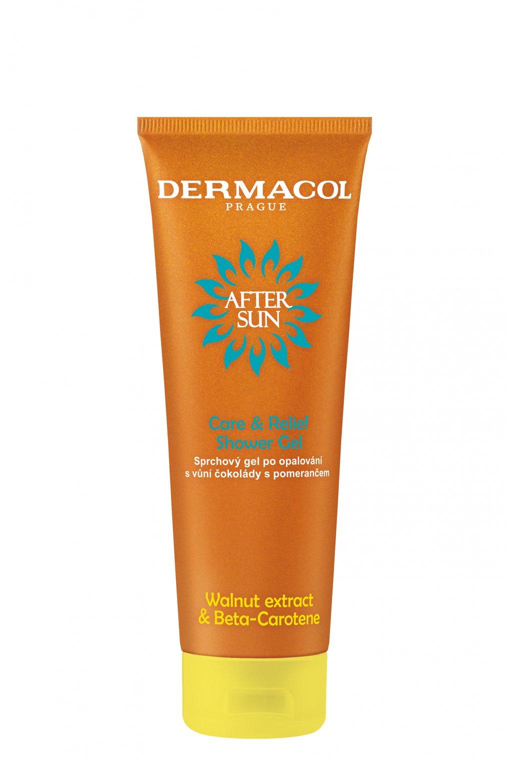 dermacol after sun sprchovy gel po opalovani