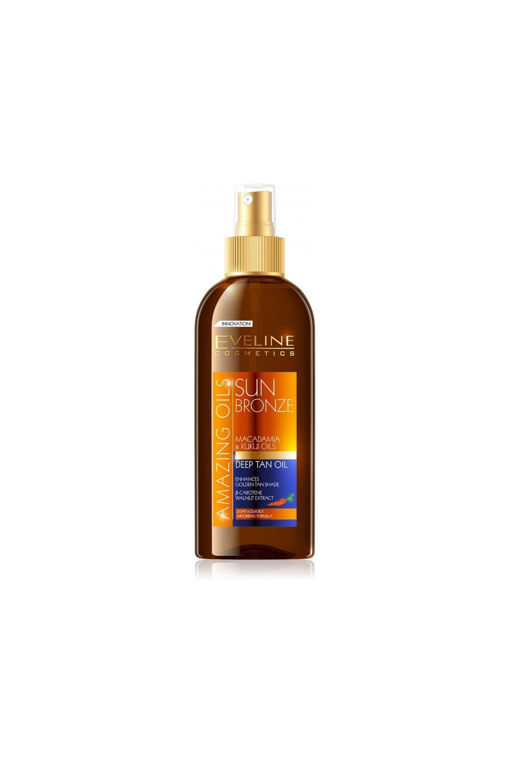 eveline cosmetics sun bronze Hluboko opalovaci olej