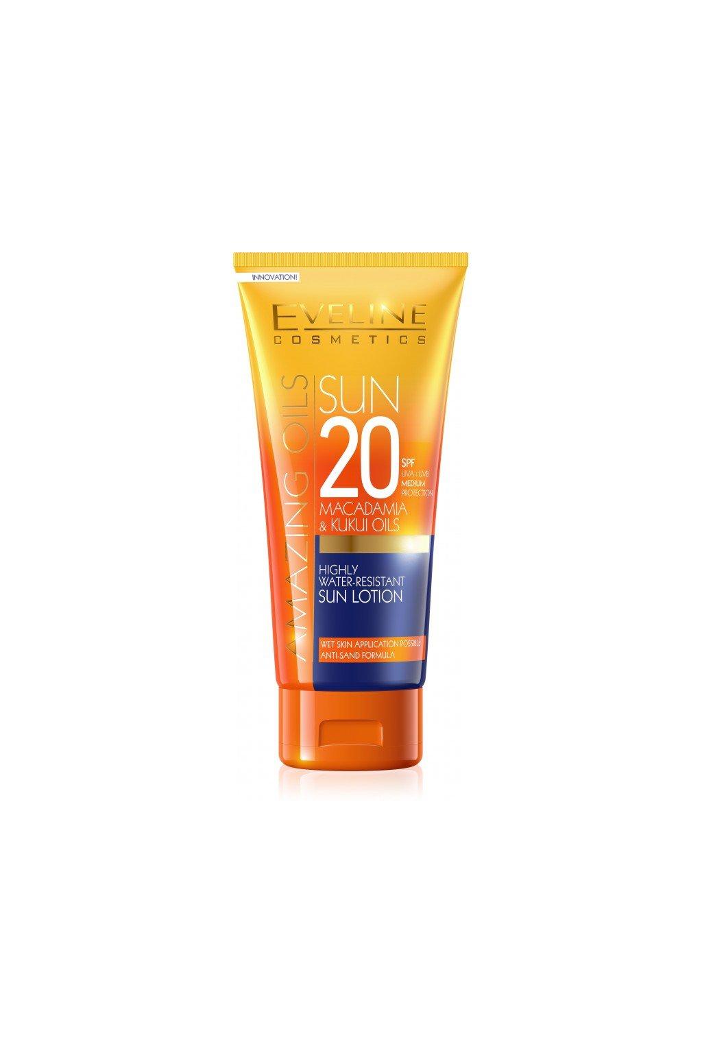 eveline cosmetics sun care Opalovaci krem SPF20