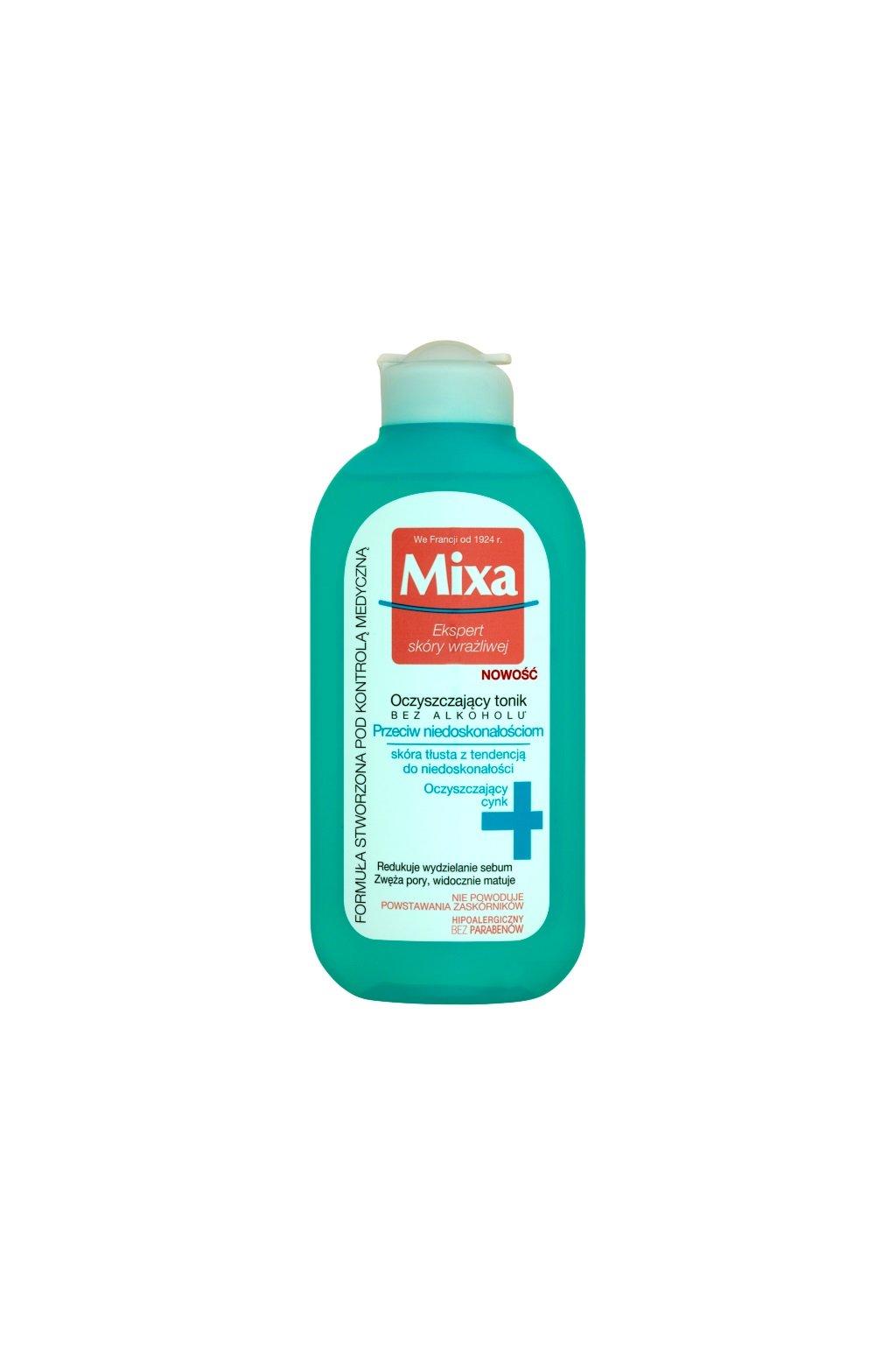 mixa anti imperfection cistici pletova voda bez alkoholu 1