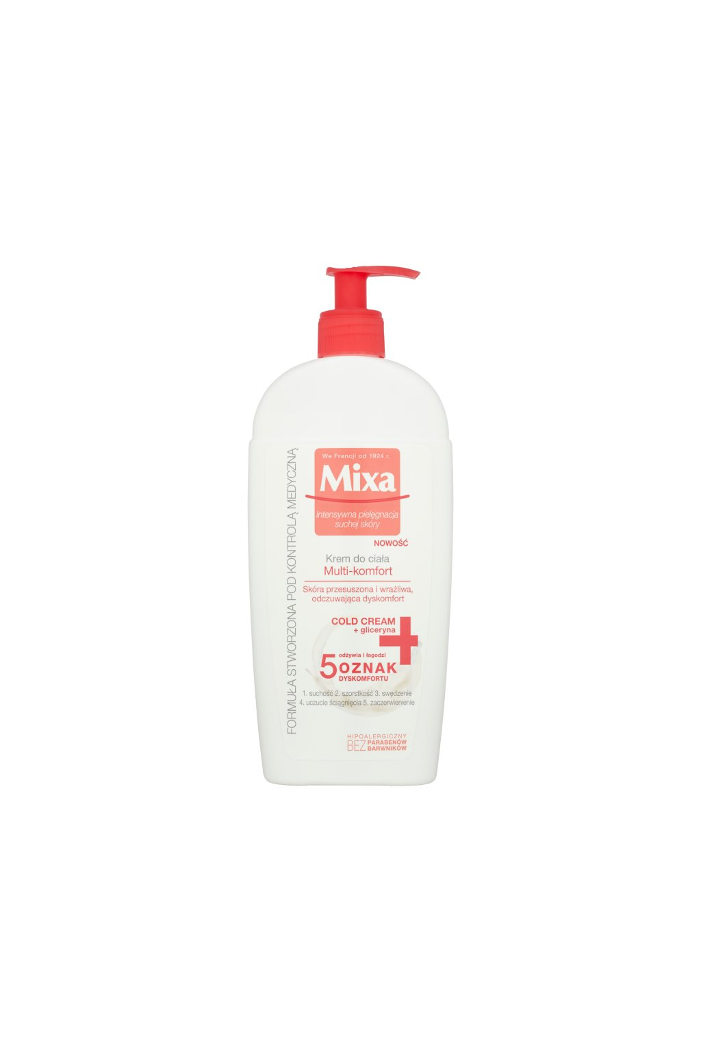 mixa multi comfort osvezujici telove mleko pro citlivou pokozku