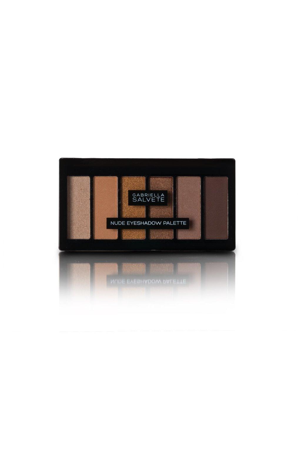 gabriella salvete paletka 6 dlouhotrvajicich ocnich stinu nude eyeshadow palette 12 5 g