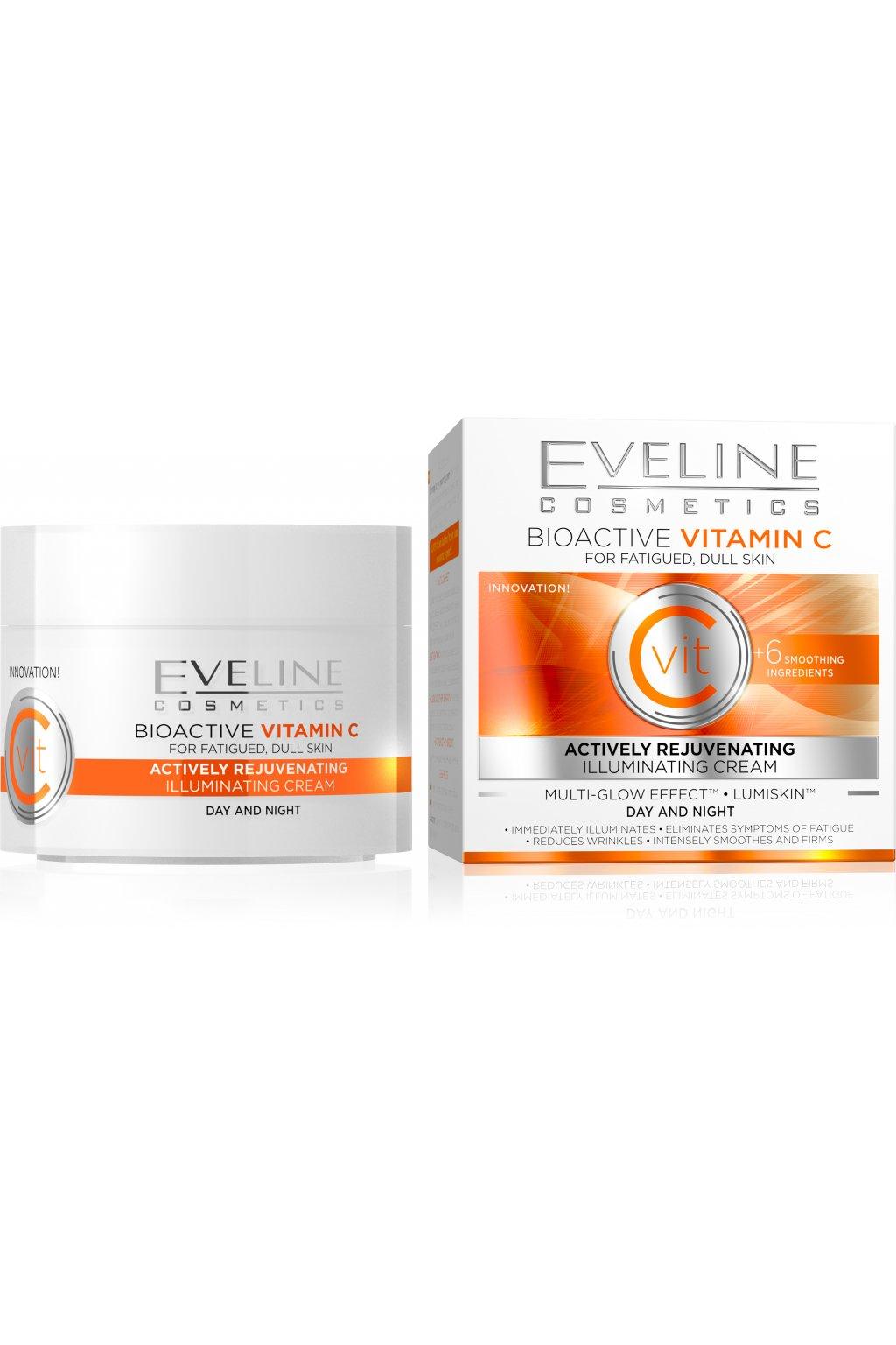 eveline cosmetics bioactive vitamin c rozjasnujici krem na den a noc 50ml.jpg