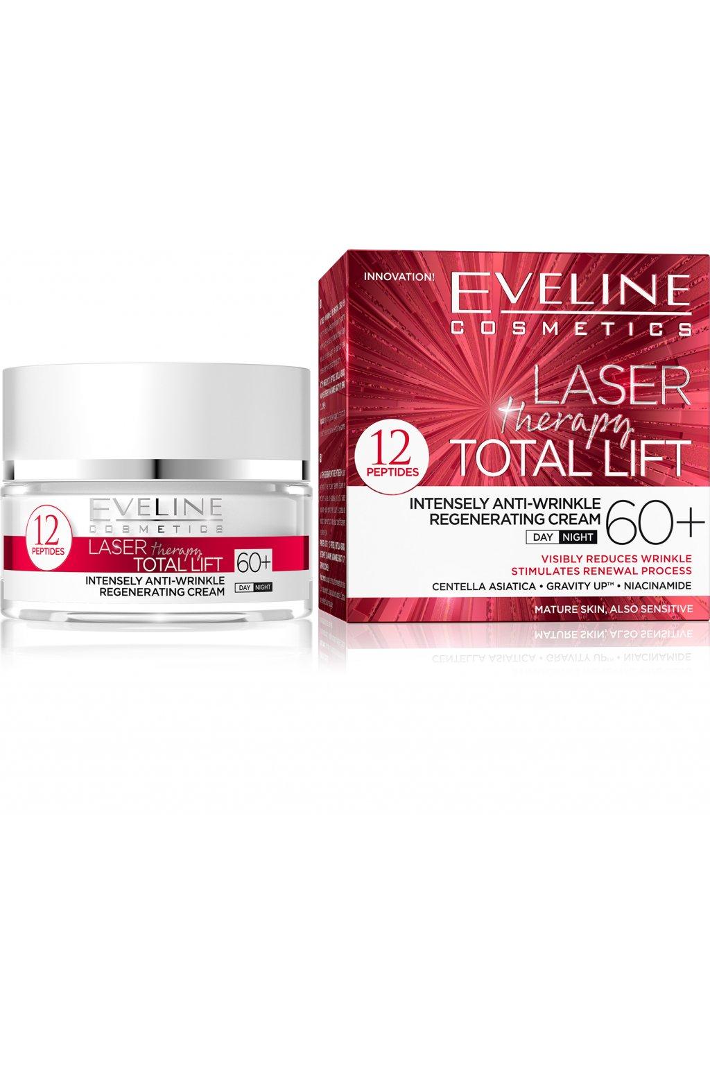 eveline cosmetics laser therapy total lift denni i nocni protivraskovy krem 60
