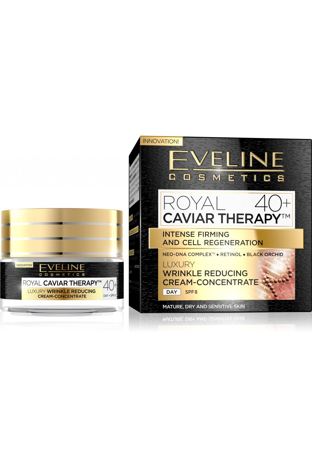 eveline cosmetics royal caviar day cream 40 50ml