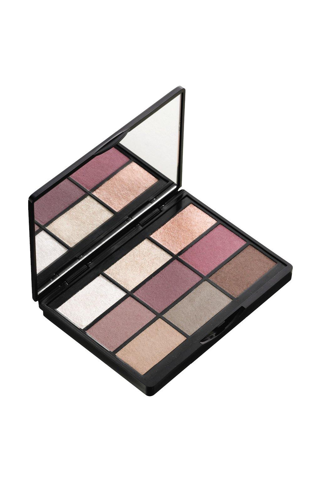 gosh 9 shades palette paleta ocnich stinu se zrcatkem 001 to enjoy the New york