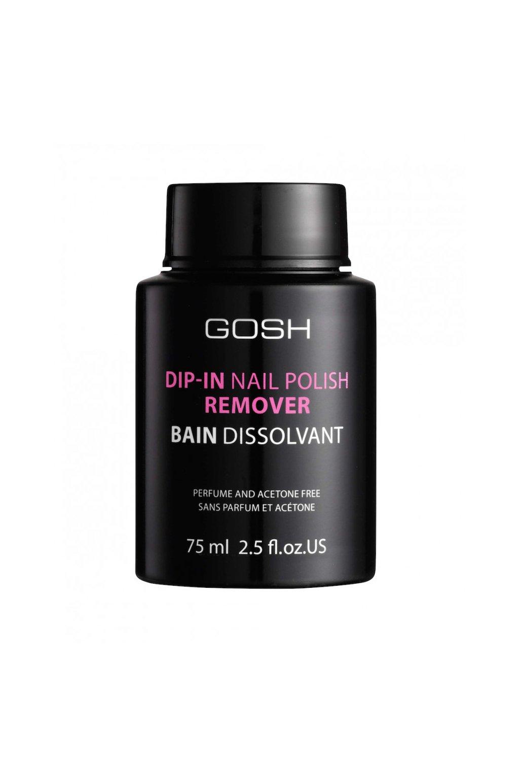 gosh Dip in Nail Polish Remover odlakovac nehtu