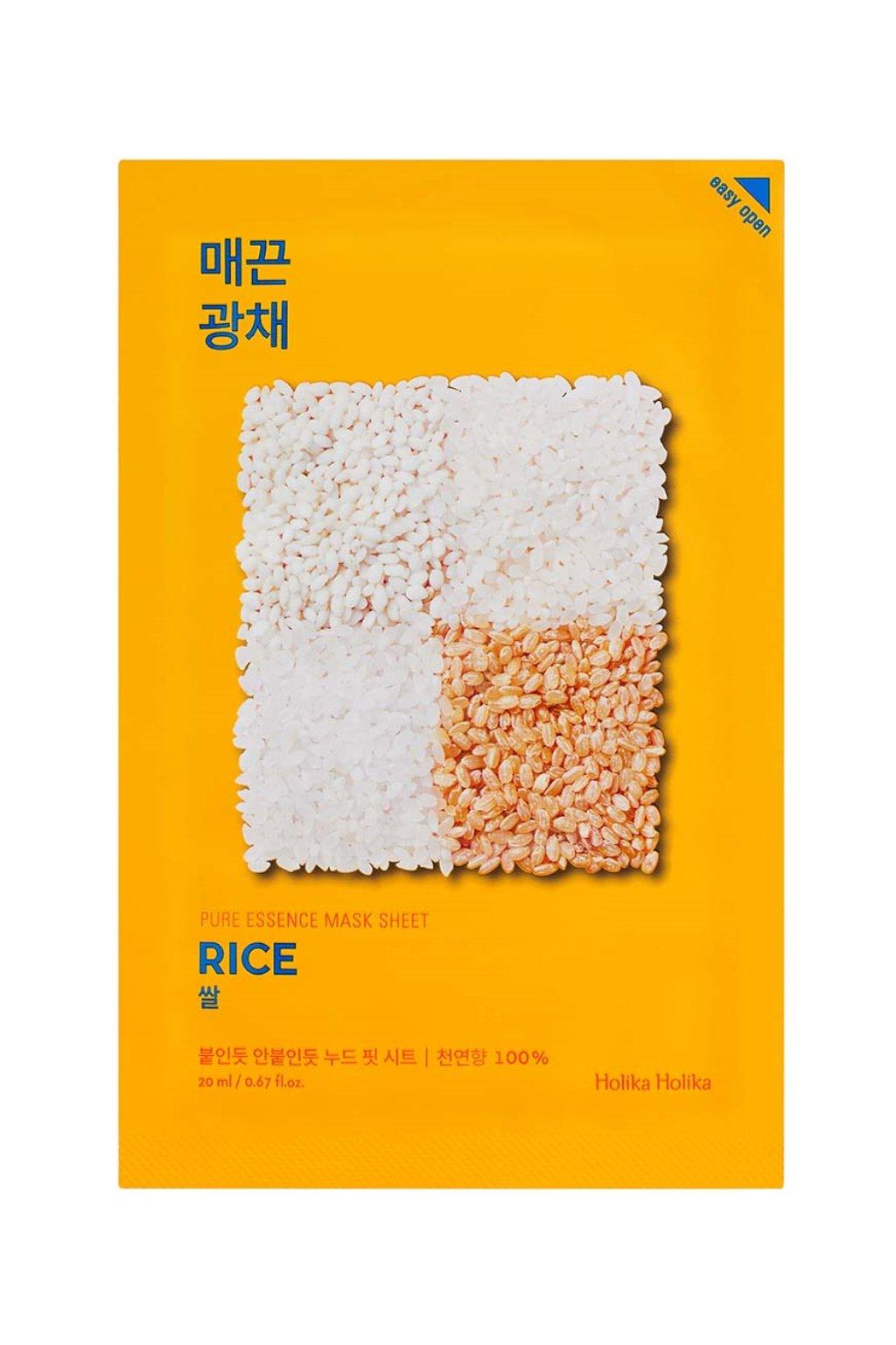 Holika Holika Pure Essence Rice Mask 1024x1364