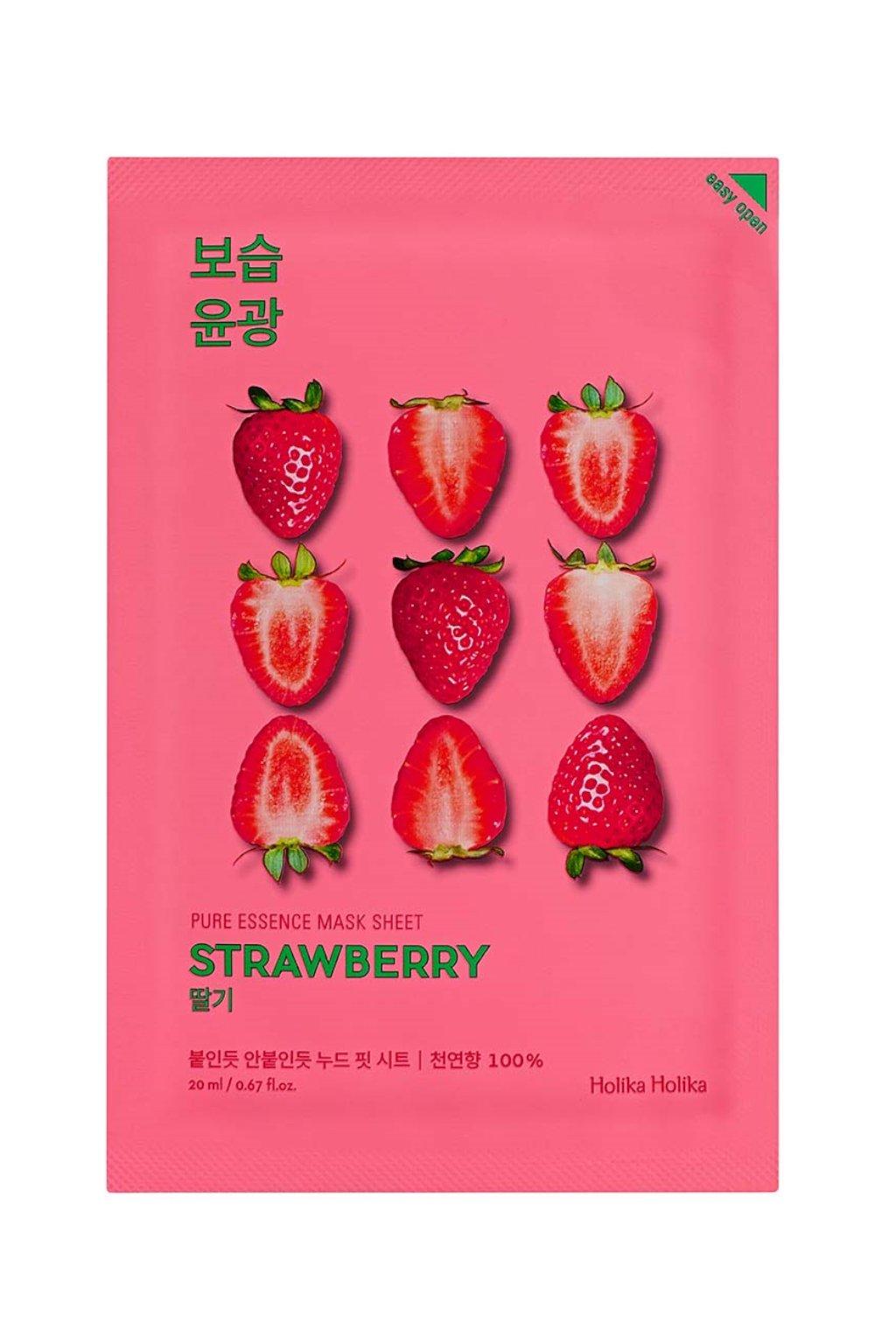 Holika Holika Pure Essence Strawberry Mask 1024x1364