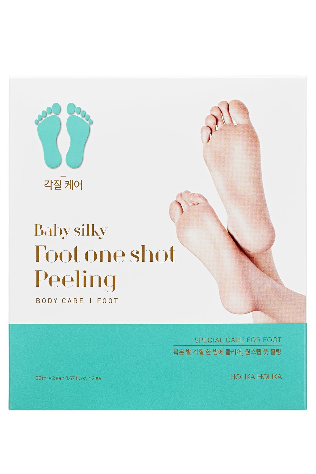 Holika Holika Baby Silky Foot One Shoot Peeling