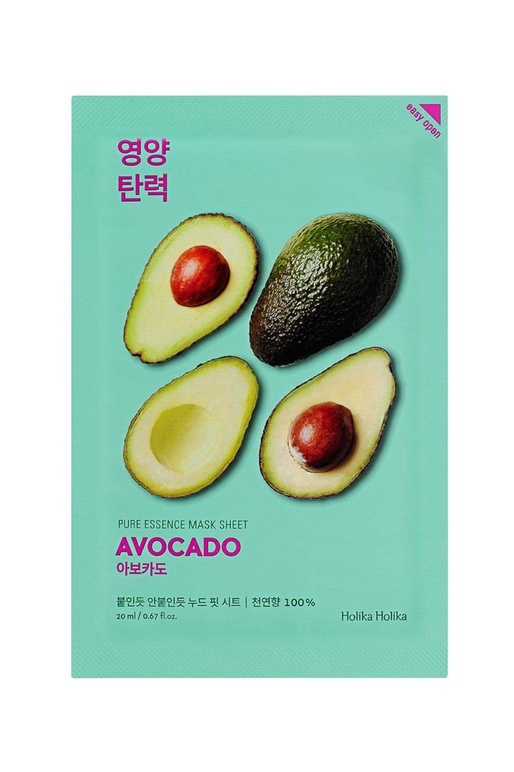 Holika Holika Pure Essence Avocado Mask