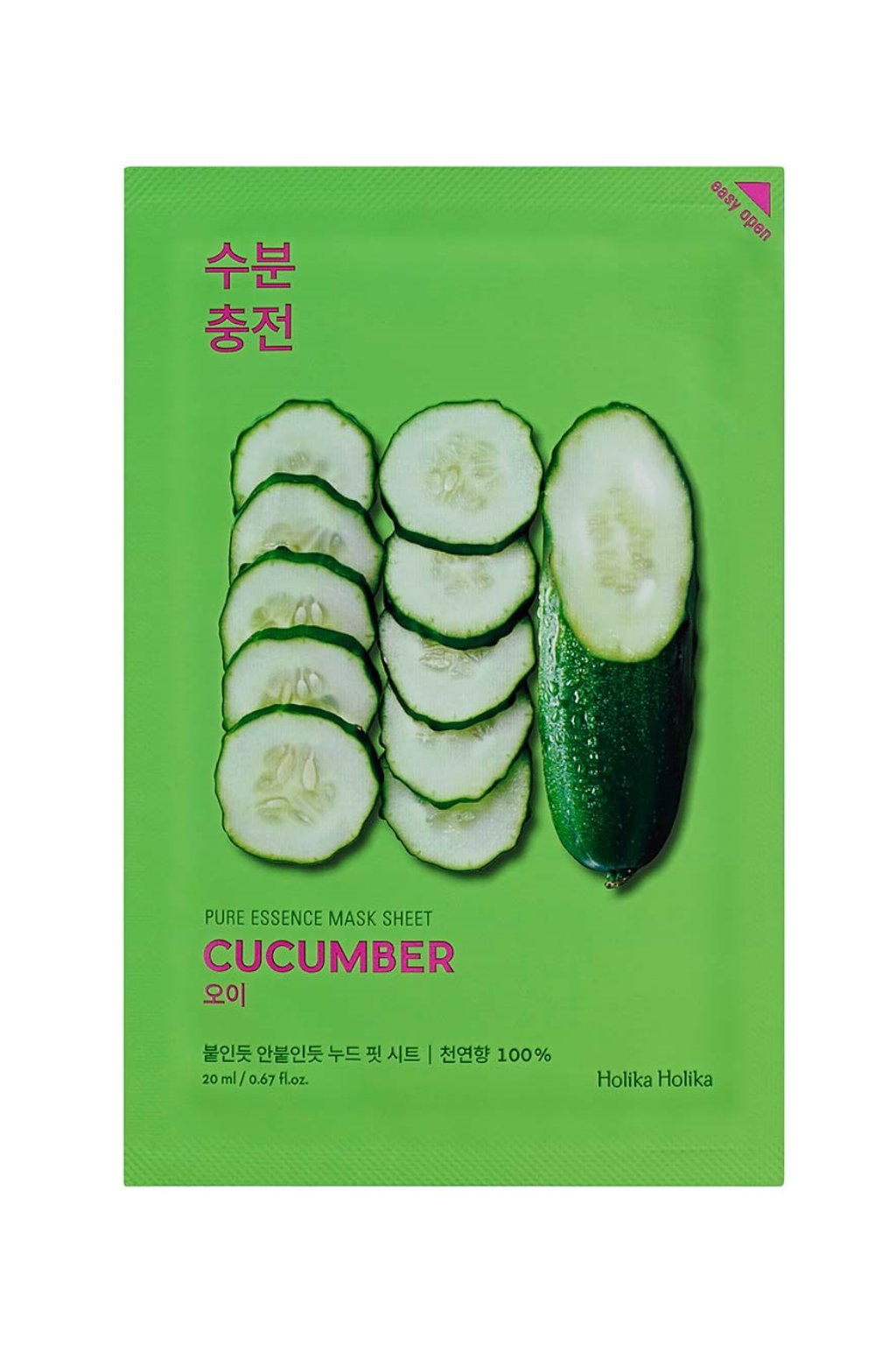 Holika Holika Pure Essence Cucumber Mask
