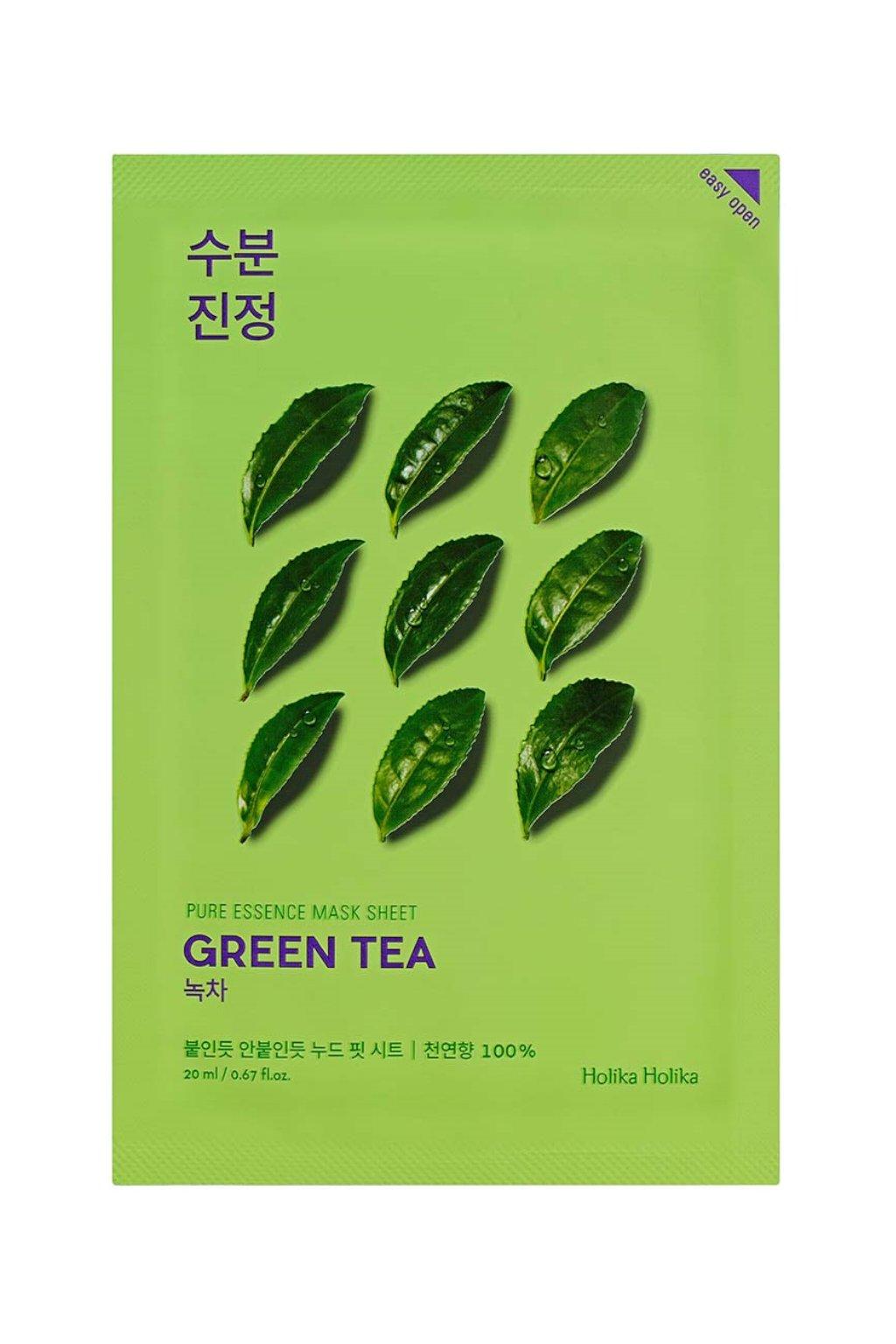 Holika Holika Pure Essence Green Tea Mask