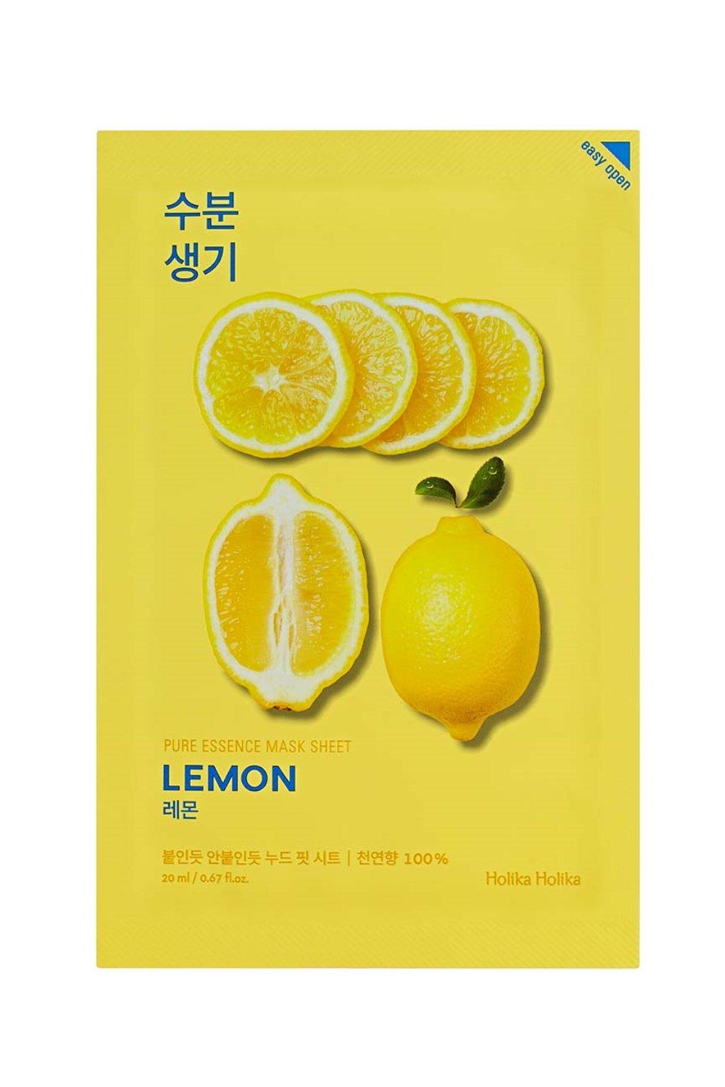 Holika Holika Pure Essence Lemon Mask